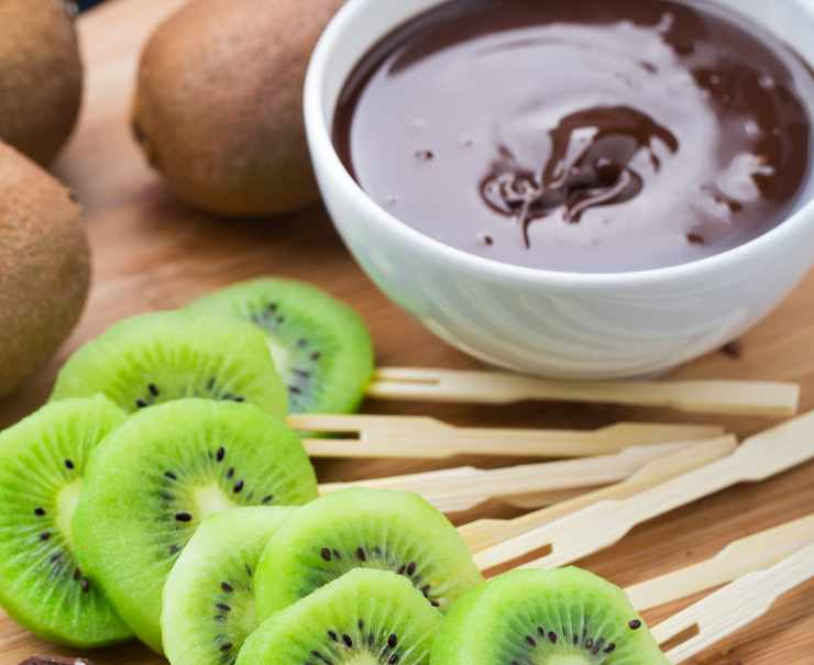 Kiwi al cioccolato - ricettasprint