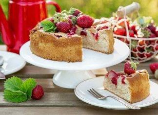 Torta soffice light alle fragole - ricettasprint