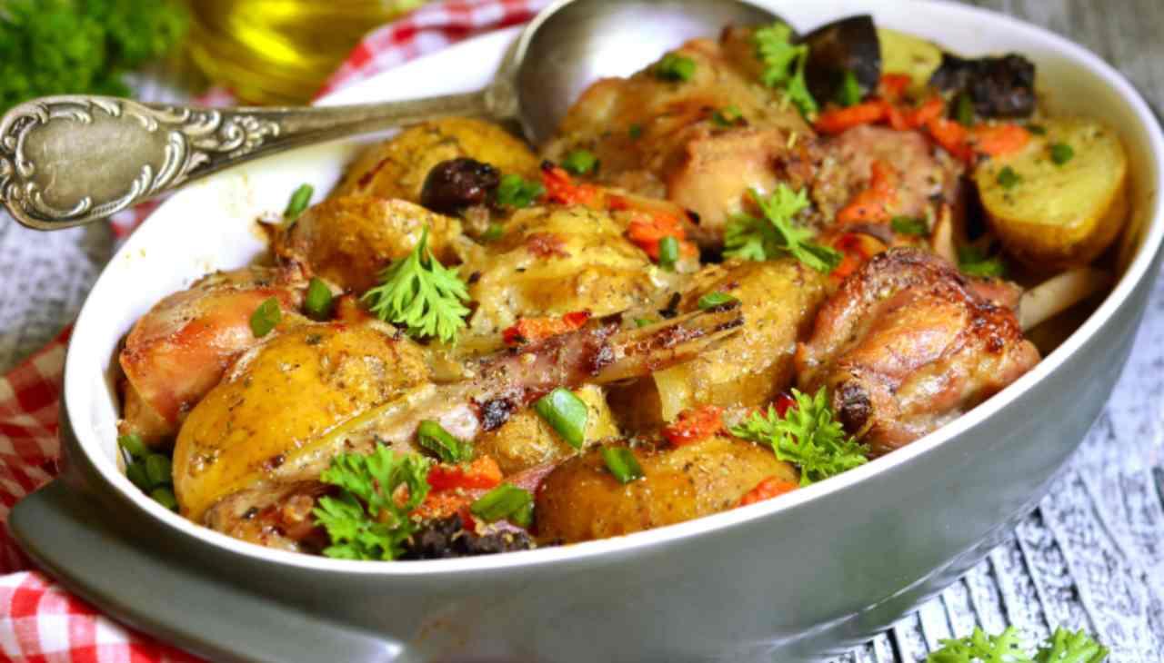 Coniglio alla siciliana - ricettasprint