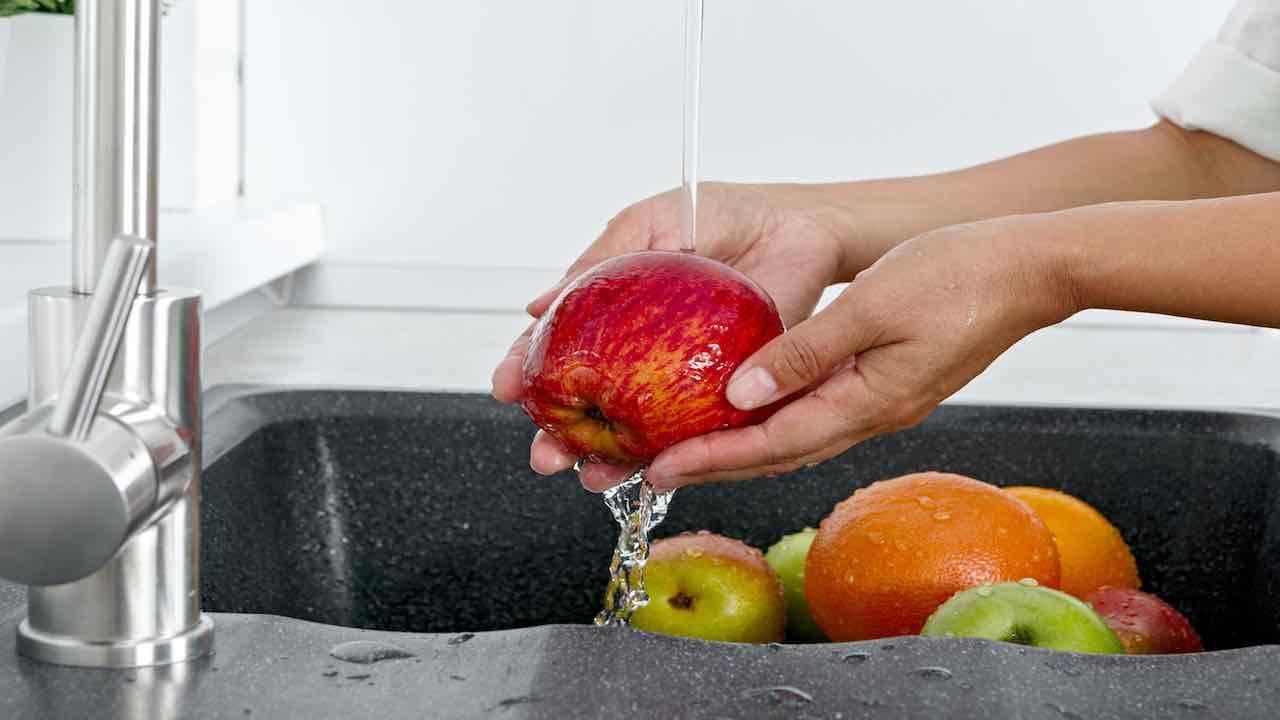 Covid -19 | come lavare la frutta | e la verdura