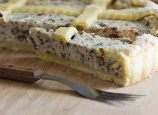 crostata pasquale ricotta e cioccolato - ricettasprint