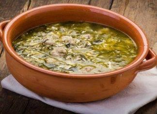 minestra di scarole e pollo ricettasprint