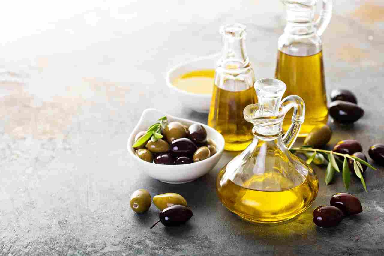 Falso olio extravergine d'oliva