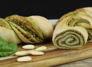 pane con pesto alle erbe - ricettasprint