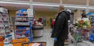 covid 19 italia supermercato