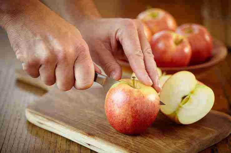 torta mele e panna della nonna - ricettasprint
