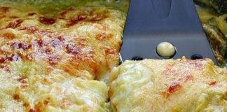 Lasagna di verza vegetariana