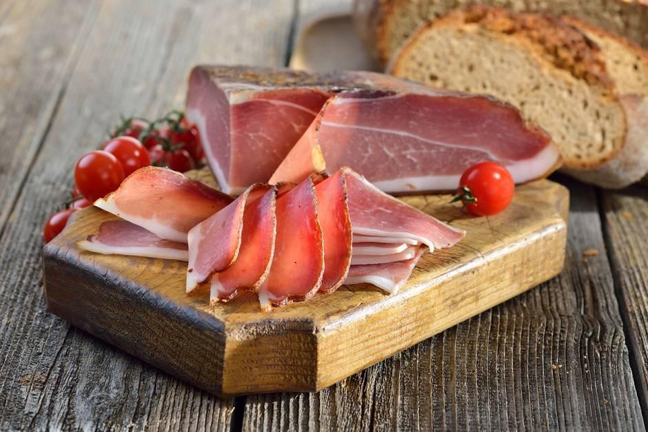 Torta croccante con bacon