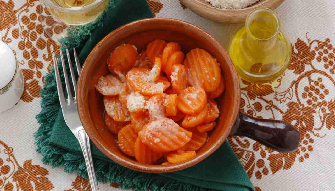 Carote alla parmigiana - ricettasprint