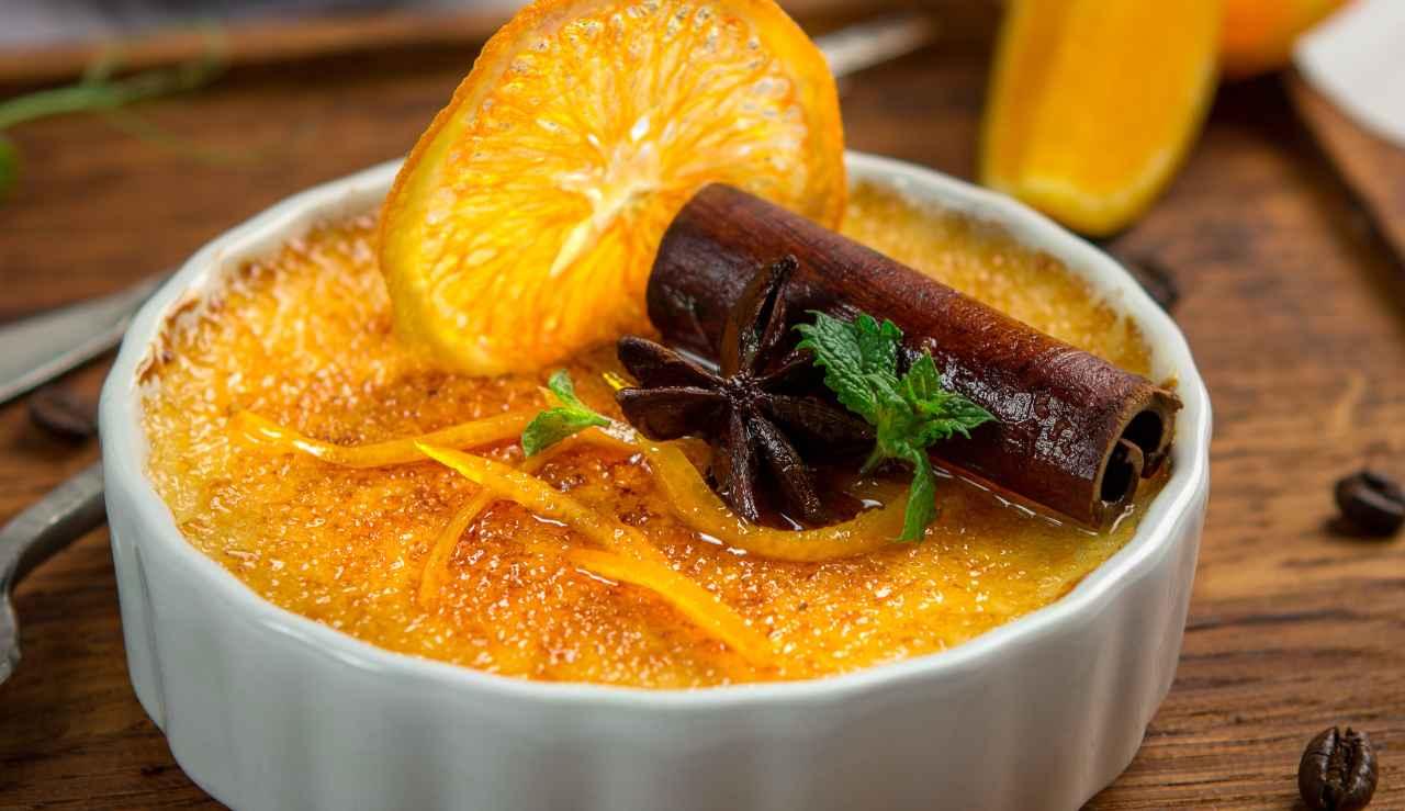 Crema catalana di colomba di Carlo Cracco - ricettasprint