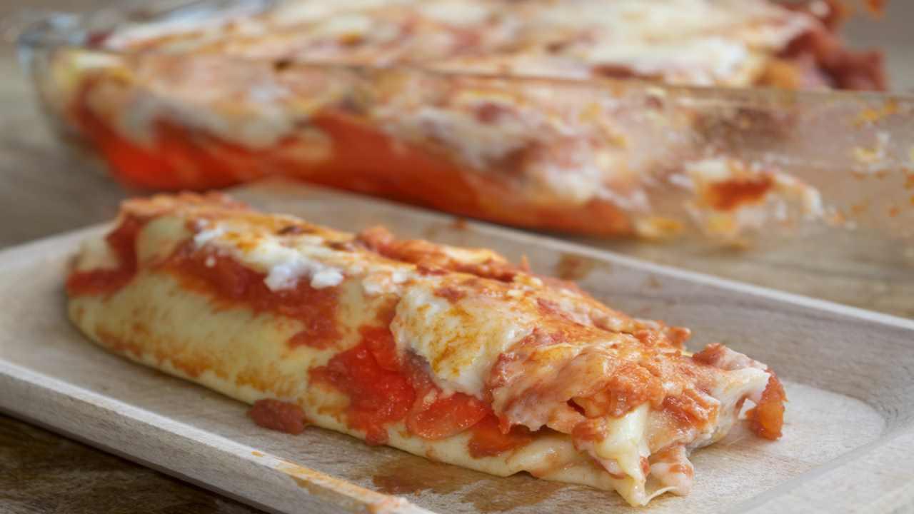 Crepes alla pizzaiola