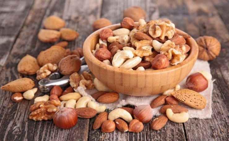 Biscotti con frutta secca senza grassi