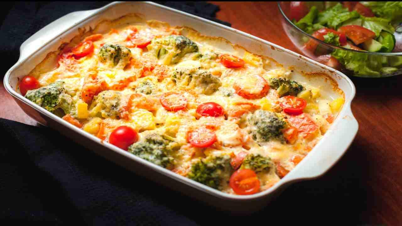 Ricetta Verdure Besciamella.Pasta Al Forno Con Verdure Miste E Besciamella Da Provare