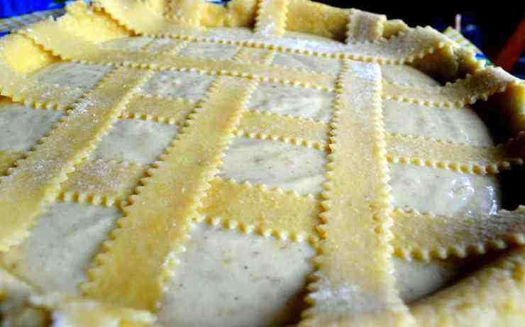 Pastiera di riso al profumo di limoncello - ricettasprint