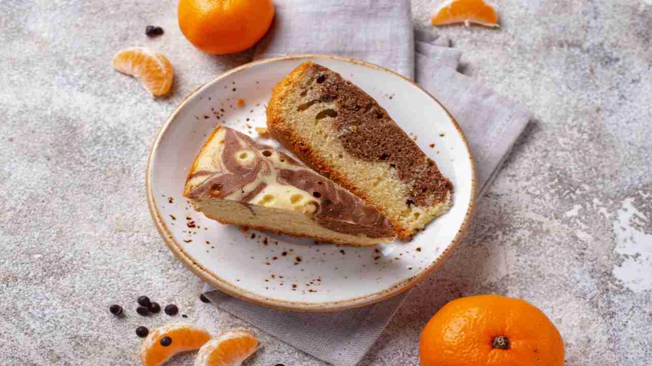 Torta pan d'arancio e cioccolato