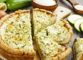 Torta rustica di zucchine e mascarpone - ricettasprint