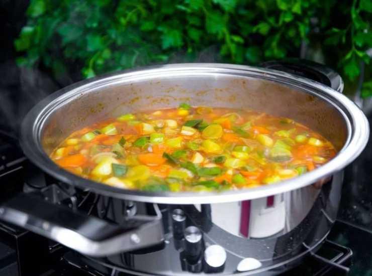 minestrone alla genovese - ricettasprint