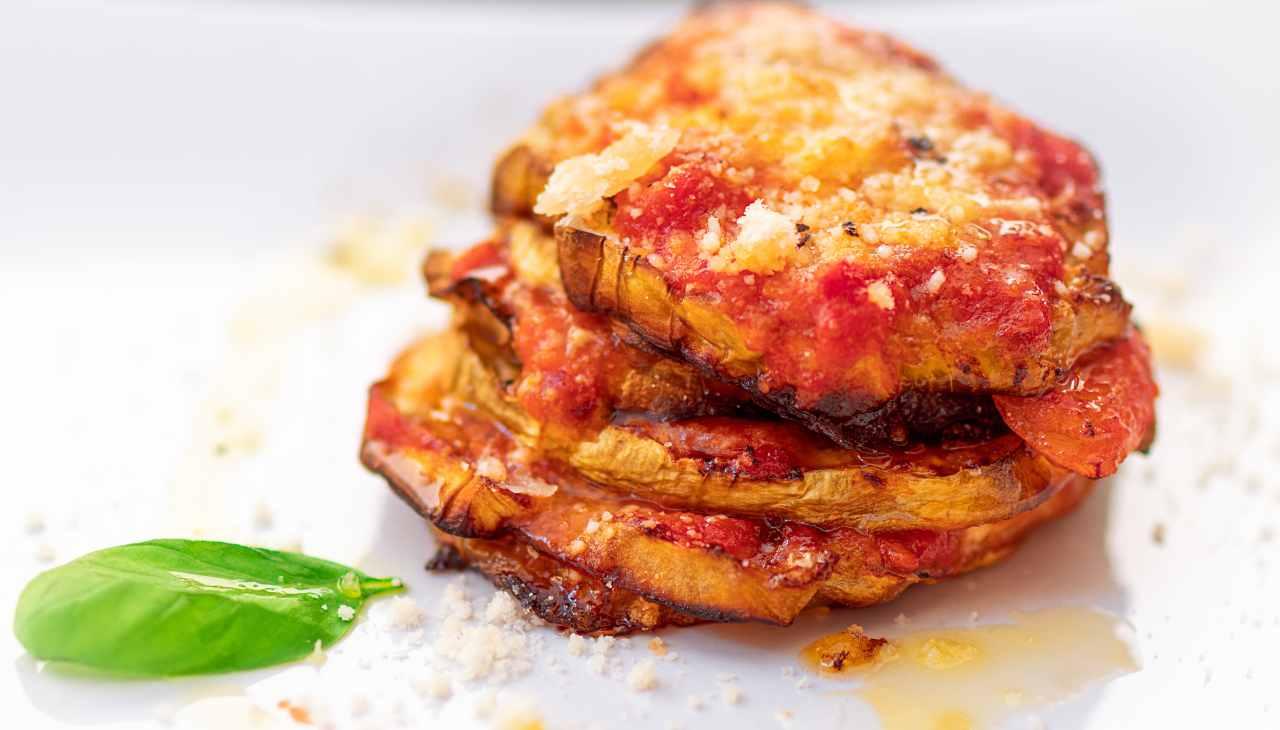parmigiana di melanzane light - ricettasprint