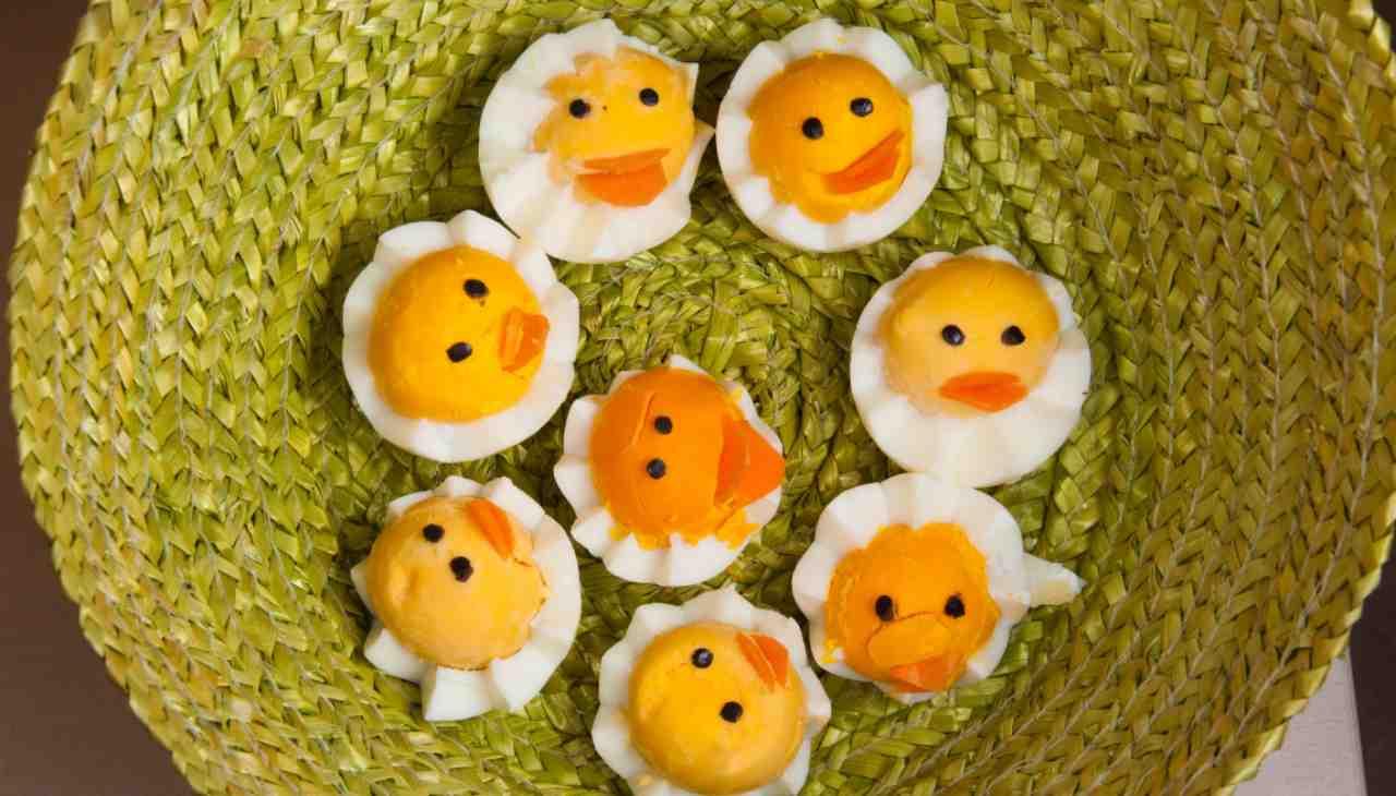 Uova ripiene pasquali - ricettasprint