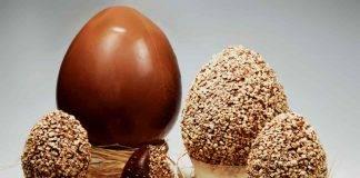 uovo al cioccolato fondente con arachidi - ricettasprint