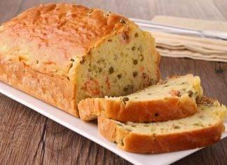 Cake salata con fave e pecorino - ricettasprint