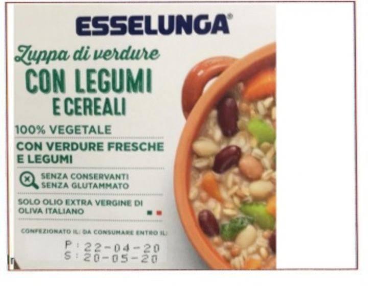 Esselunga richiamo prodotto alimentare rischio grave contaminazione - ricettasprint