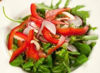 Insalata valeriana con ravanelli - ricettasprint