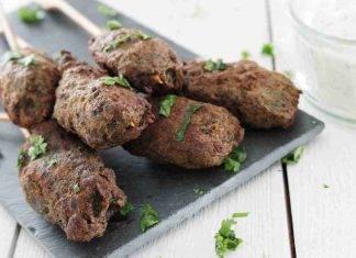 Mini kebab di pollo e peperoni FOTO ricettasprint