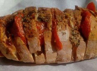 Pane condito al forno - ricettasprint
