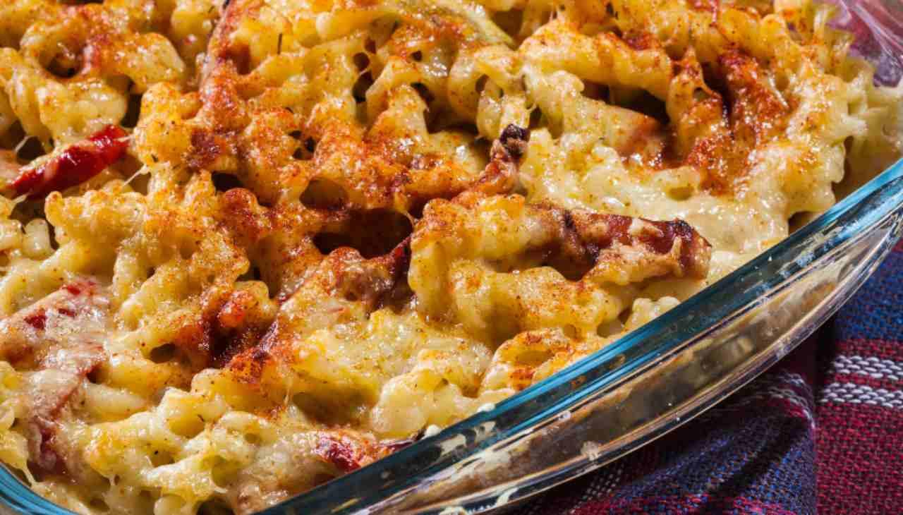 Pasta al fumè al forno - ricettasprint