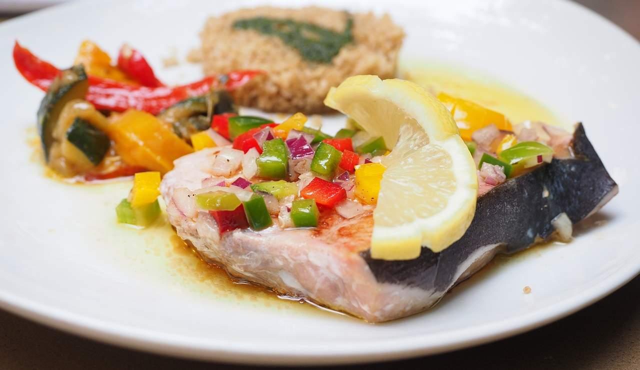 Pesce spada marinato con peperoni ricettasprint