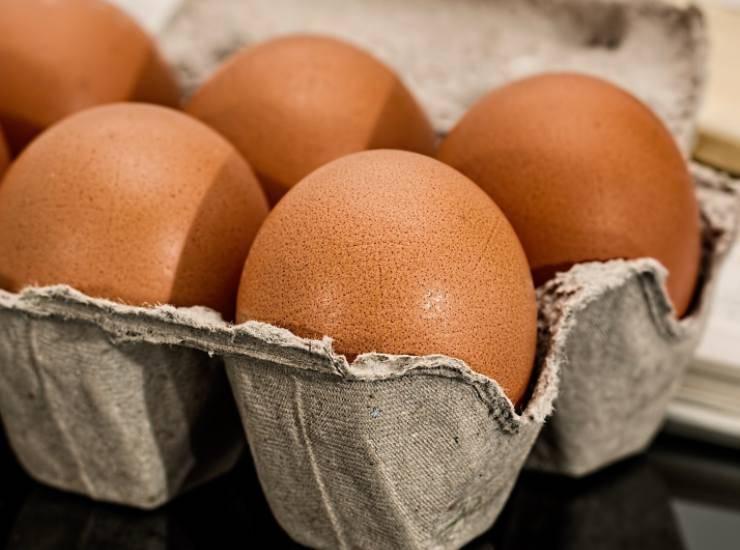 Pizza di pane carrè prosciutto uovo - ricettasprint