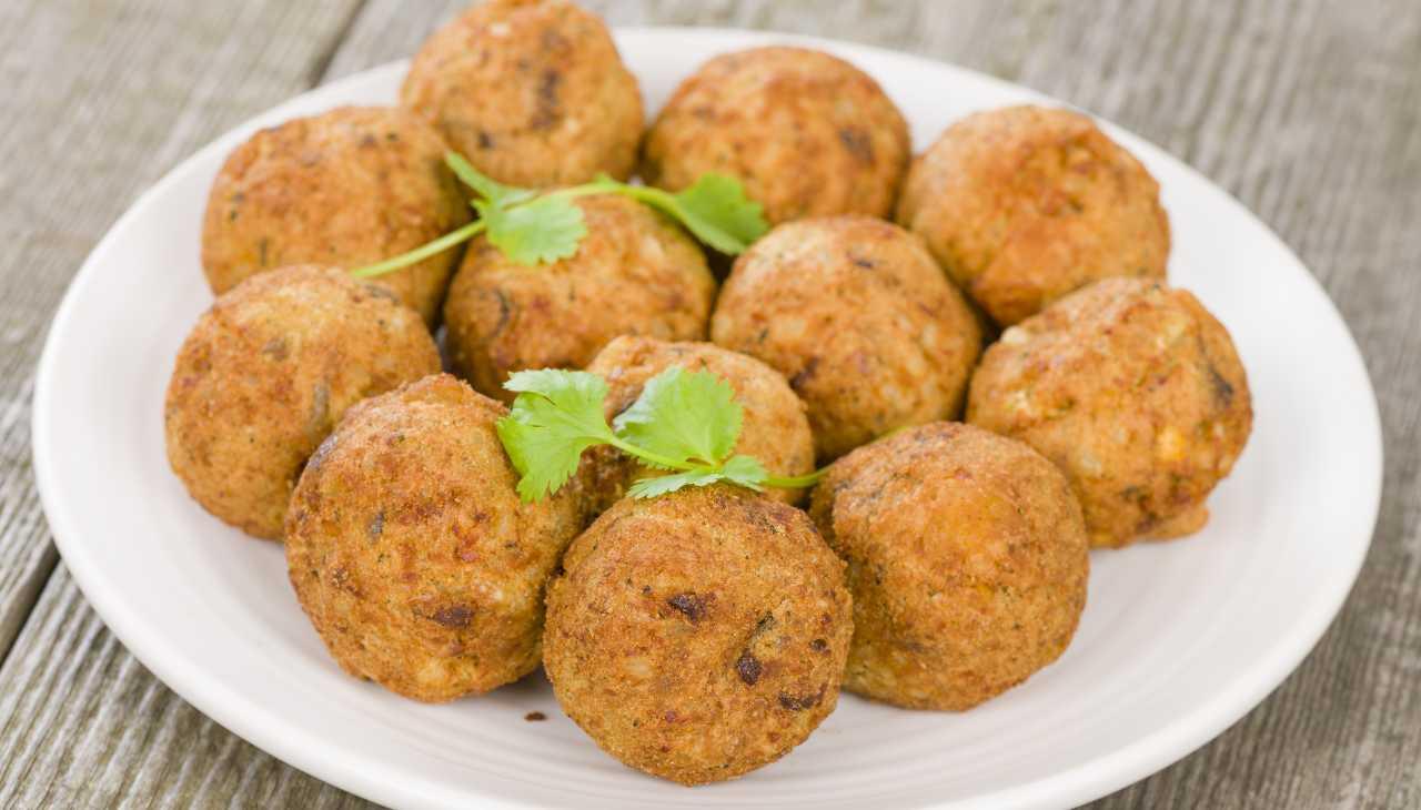 Polpette di ceci e patate - ricettasprint