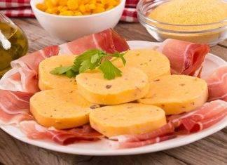 Salame di polenta e speck