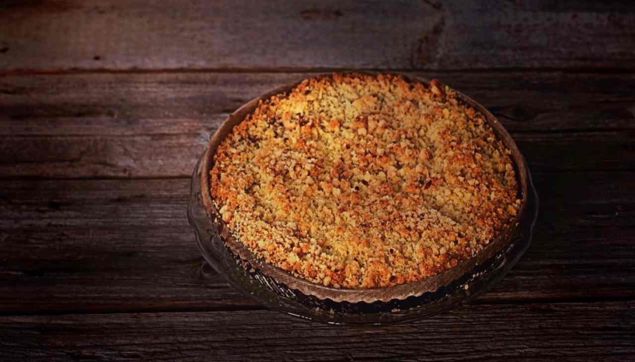 Sbriciolata integrale con fiocchi d'avena e miele - ricettasprint