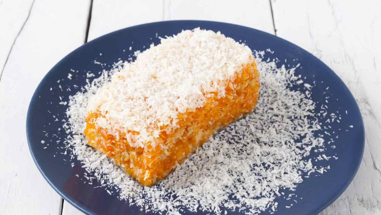 Torta al cocco carote e mandorle ricettasprint