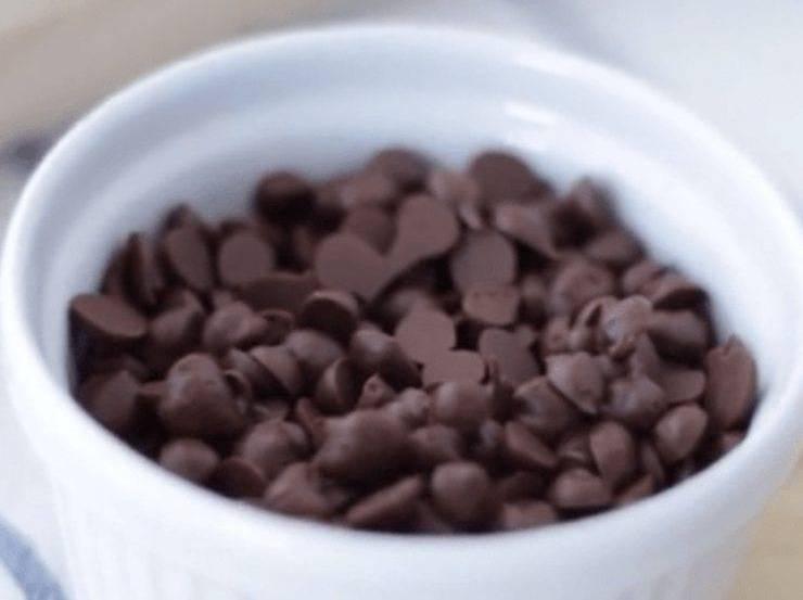 Torta con cocco e cioccolato ed albumi
