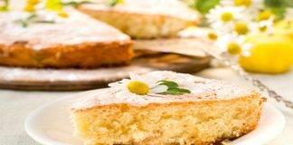 Torta margherita vegetariana