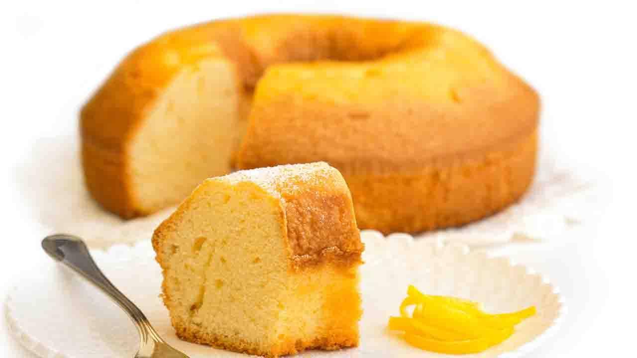 Torta pan li limone