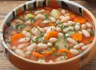 Zuppa di fagioli bianchi ricettasprint