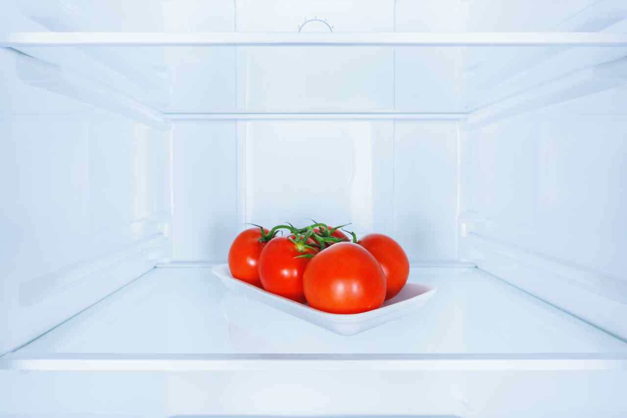 Pomodori in frigo