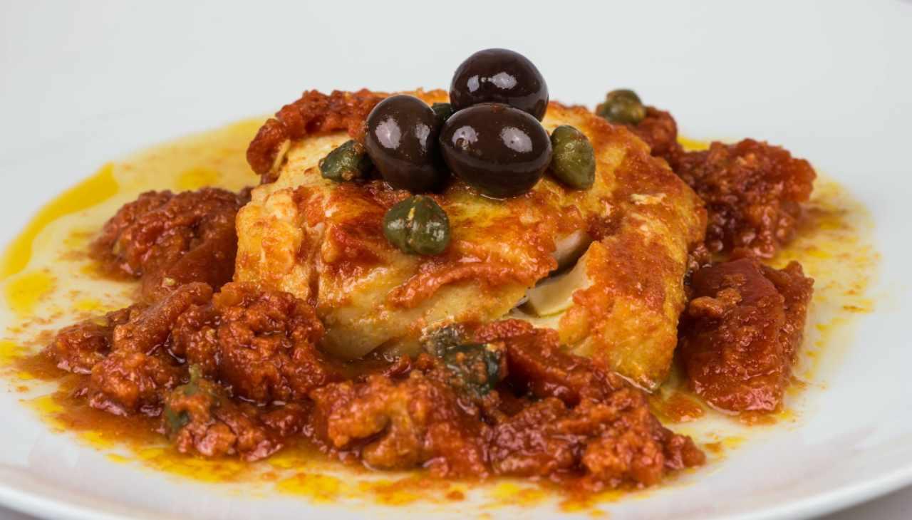 Baccalà alla siciliana - ricettasprint