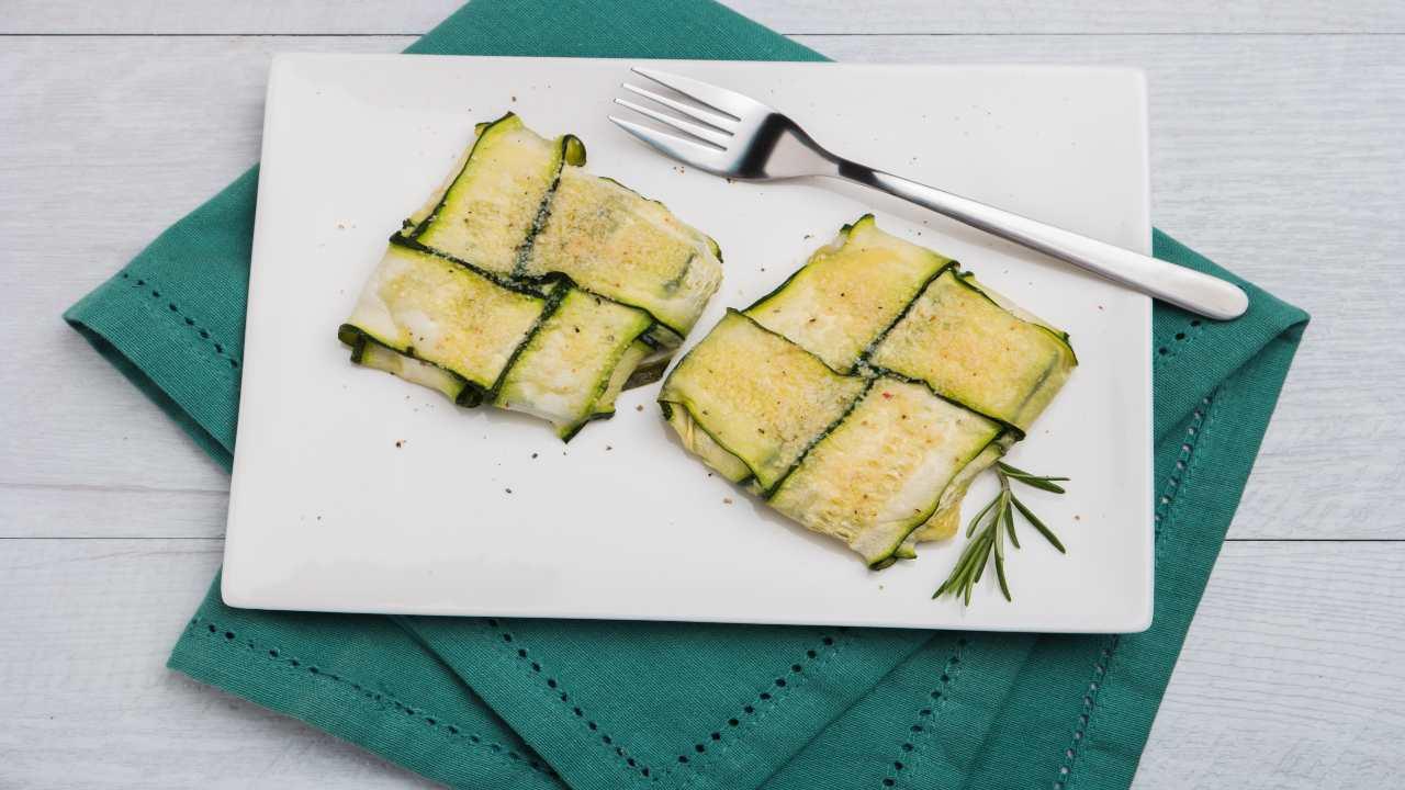 Fagottini di zucchine ripiene