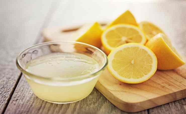 Frullato di mele verdi e limone