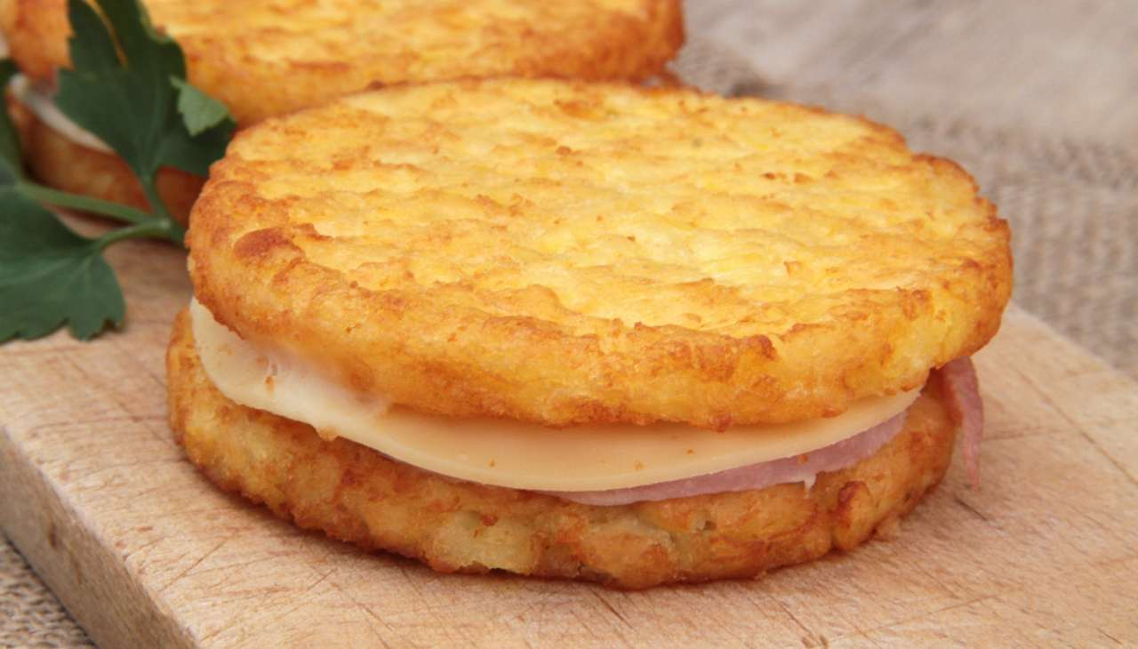 Hamburger di patate farciti - ricettasprint