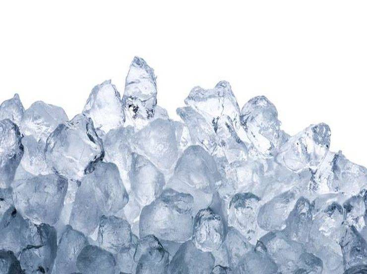 Ice in a bag