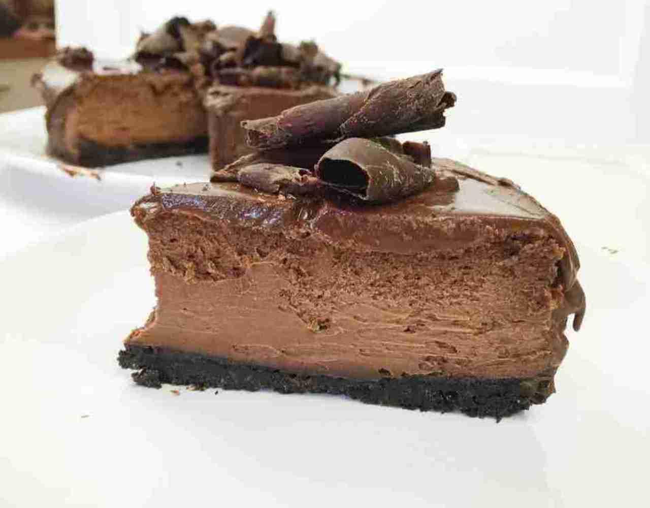 Kinder cheesecake FOTO ricettasprint