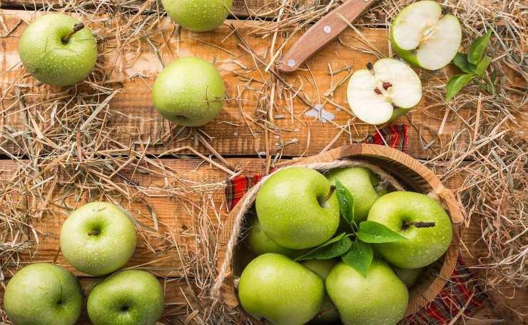 Frullato di mele verdi e limon