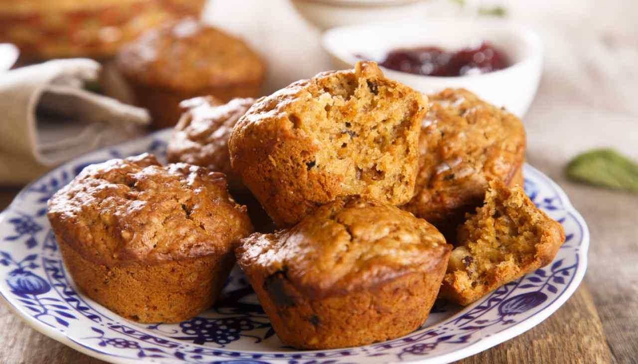 Muffin ai semi di chia - ricetta sprint
