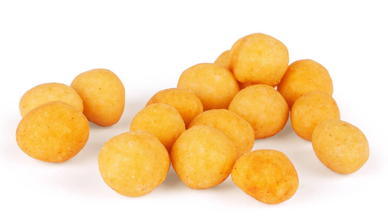 Palline di patate ripiene al prosciutto